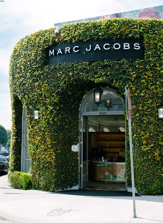 Marc Jacobs' Beverly Hills store, designed by architect Stephan Jaklitsch.