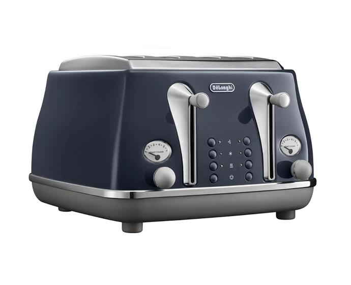 "Delonghi Icona Capitals Toaster, $169 at [David Jones](https://www.davidjones.com/Product/22483637|target=""_blank""