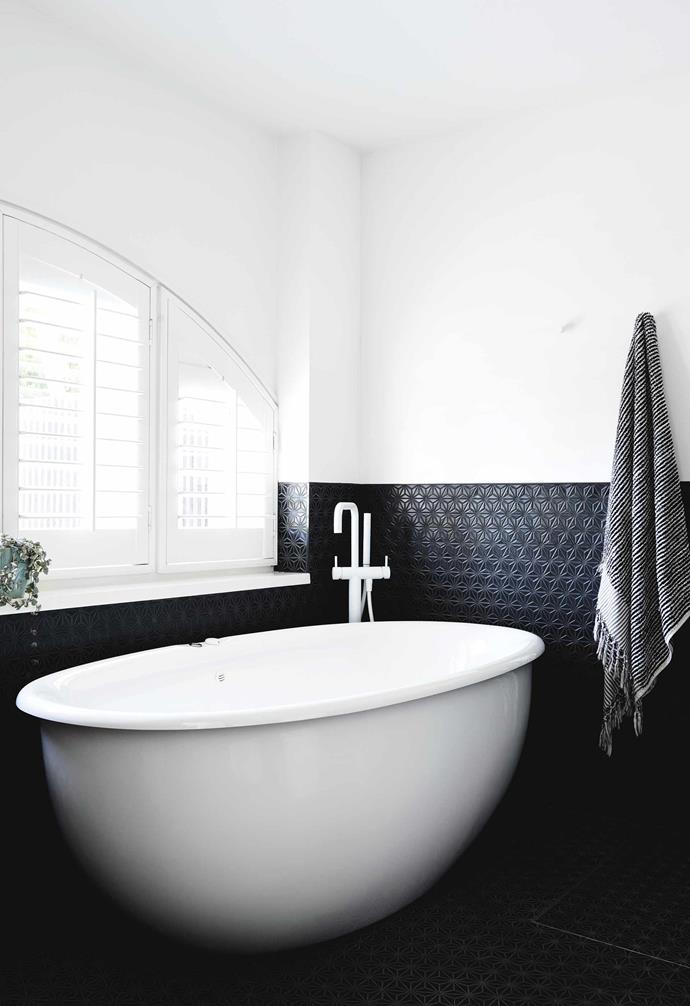 """**Ensuite** Japanese star-pattern tiles from [Academy Tiles](https://www.academytiles.com.au/
