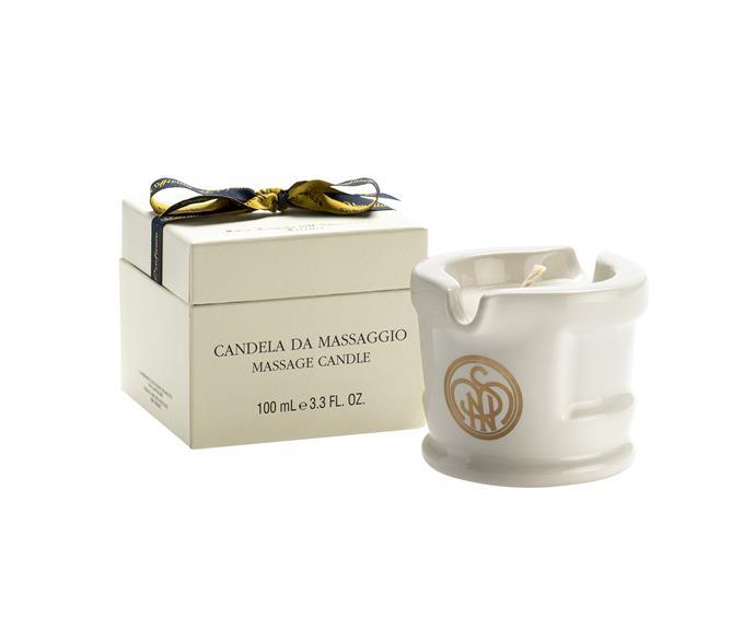 "Santa Maria Novella Massage Candle, $95,  [Agence de Parfum](https://agencedeparfum.com.au/|target=""_blank""|rel=""nofollow"")"