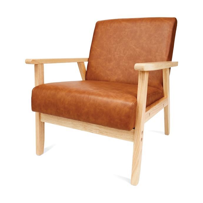"[Tan timber chair, $69](https://www.kmart.com.au/product/tan-timber-chair/2831309|target=""_blank""|rel=""nofollow"")"
