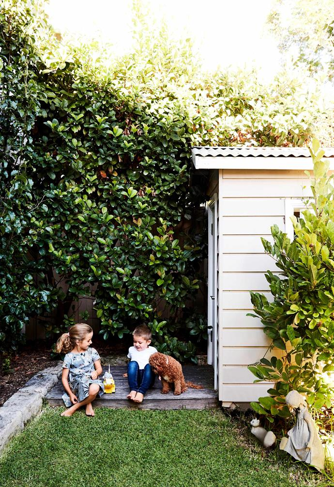 You'll want to keep the size of your garden shed in proportion to how much space you require in your backyard.