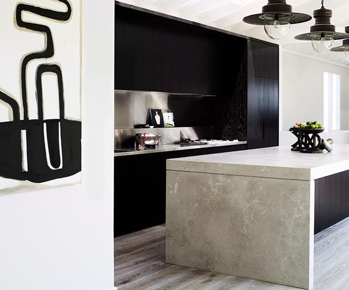 Luxury monochrome kitchen