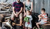 A family-run organic farm on the NSW South Coast