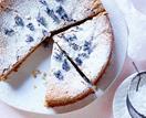Flourless almond & lavender cake