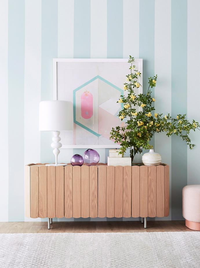 """**2013 – GEO PASTEL** <br><br> The year metallics started to make a big comeback and the overall [interior trends](https://www.homestolove.com.au/interior-design-trends-2020-20878