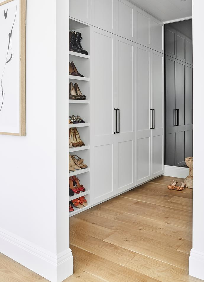 There's a place for everything in this thoughtfully organised space. Joinery by Captive Cabinet Making.