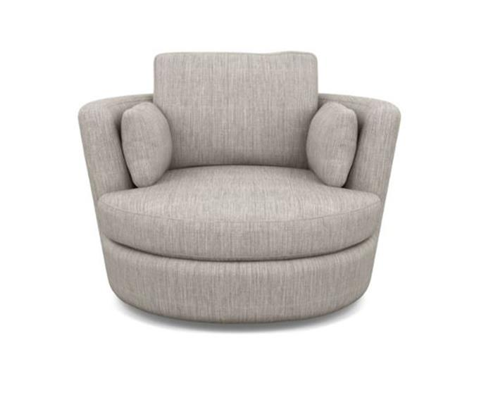 The Snuggle Chair from Plush comes with a 10-year warranty to ensure your furnishings stand the test of time.