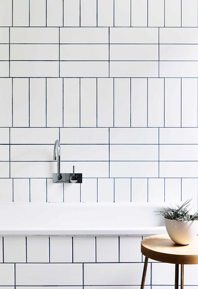 **Ask for help** Things like tiling a bathroom wall or splashback might look simple, but sometimes its best to consult the experts. If you choose to do your own tiling, make sure to order extra tiles just in case.