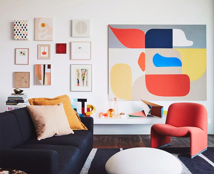 Opt for a print that works to bring your colour scheme to life. Photo: Maree Homer / bauersyndication.com.au
