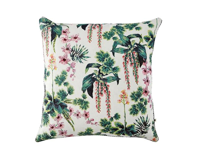 "Dancing lady orchid multicolour cushion, $200, from [Bonnie & Neil](https://bonnieandneil.com.au/products/dancing-lady-orchid-multicolour-60cm-cushion?_pos=3&_sid=35ecb3961&_ss=r|target=""_blank""