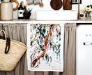 Artwork and decor inspired by native Australian flora and fauna