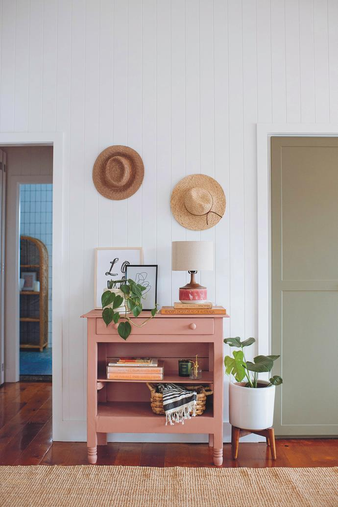 Baskets, books and straw hats are all items you probably have already lying around the house.