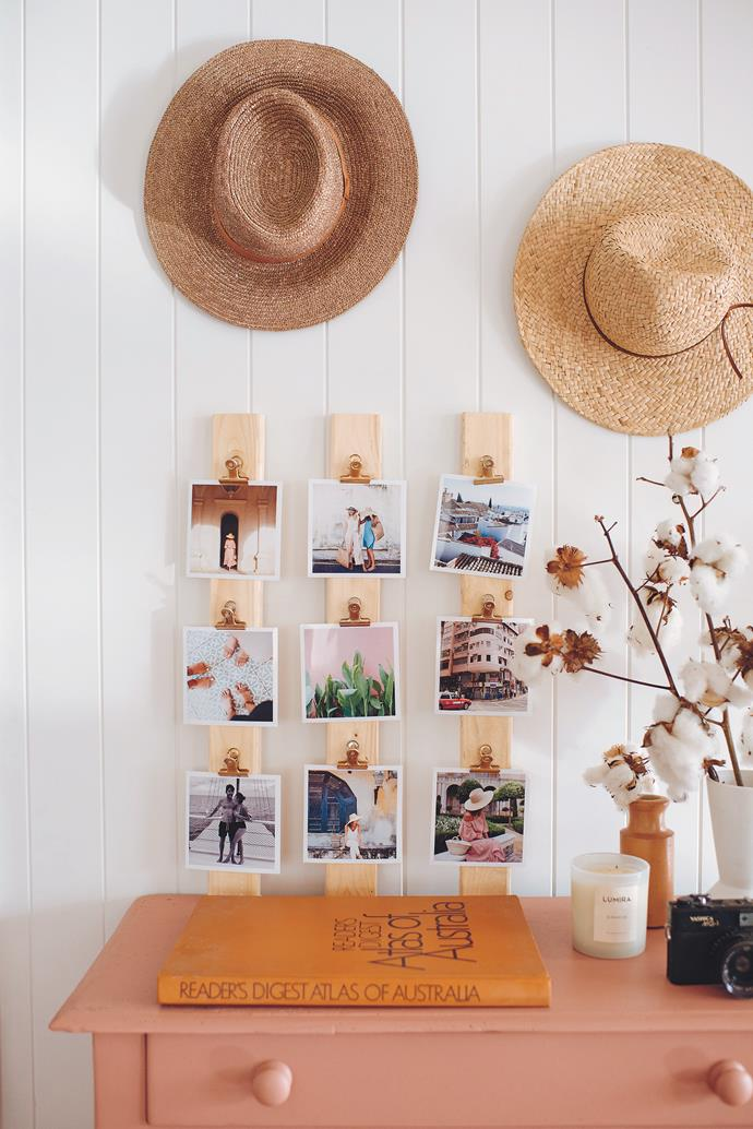 There are plenty of ways you can use photos to personalise your home. Get creative!