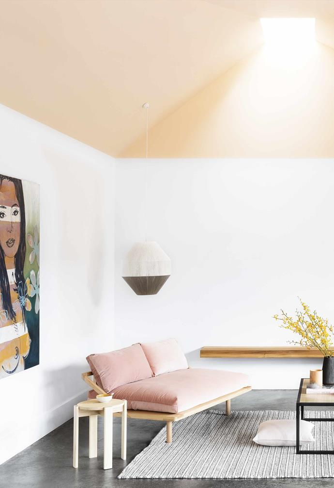 "When Samara and her husband Dan bought their bungalow in inner Melbourne, it was a deceased estate needing a lot of love. They completed a simple renovation focused on the basics to tide them over for the next five years while their family grew.<br><br>**Living area** A [Pop & Scott](https://www.popandscott.com/|target=""_blank""