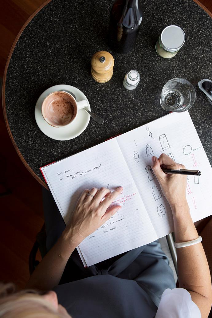 Prepare for multiple coffee catch-ups during the design process.