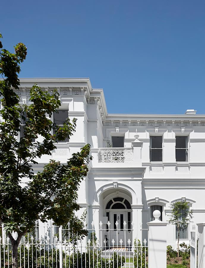 "The facade of the grand Victorian-era home was ""nursed back to life"", says interior architect Chris Rak of Robson Rak."