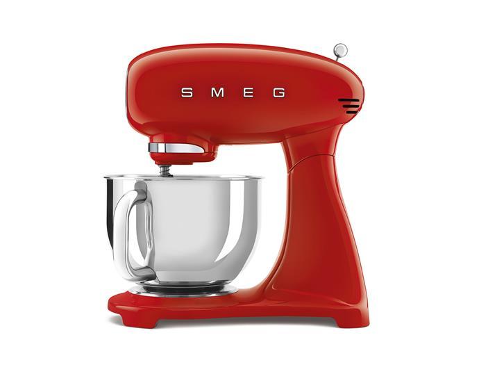 "Smeg stand mixer in red, $699, [Smeg](https://www.smeg.com.au/|target=""_blank""|rel=""nofollow"")"