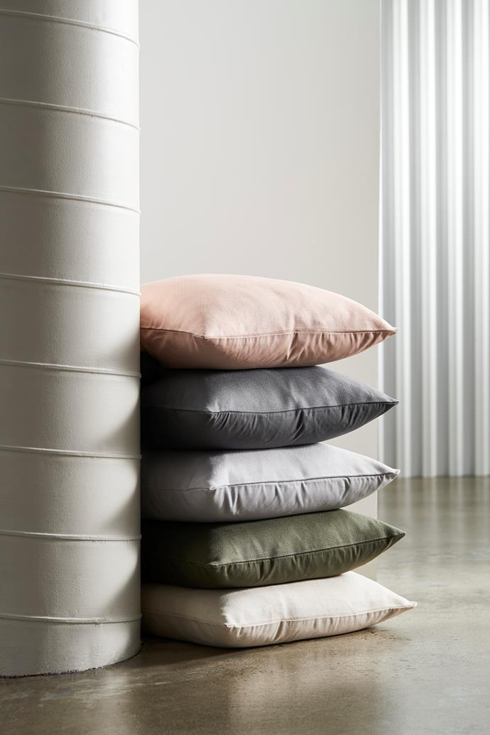 "[Gigi washed linen cushion in assorted colours, $25](https://www.target.com.au/p/gigi-washed-linen-cushion/62698955|target=""_blank""