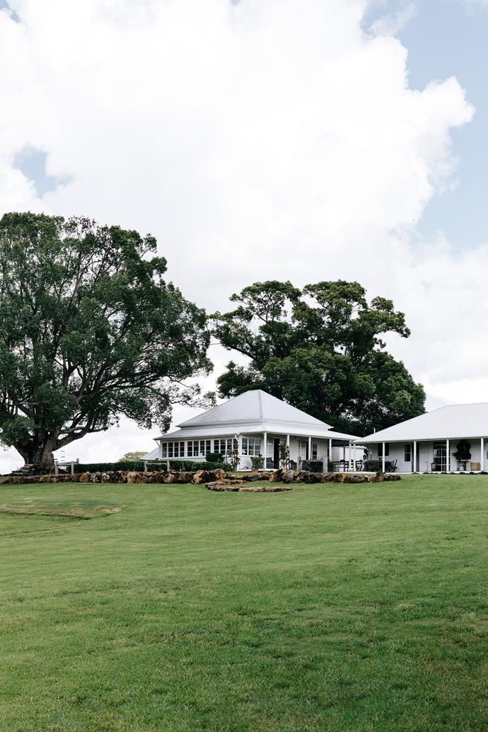 "Being able to watch their children head off across the paddock to their grandparents house, is one of the reasons Edward Rawlings and Jeanie Wylie are farming their verdant 48-hectare [property in subtropical Nashua, NSW](https://www.homestolove.com.au/nashua-nsw-accommodation-20440|target=""_blank"")."