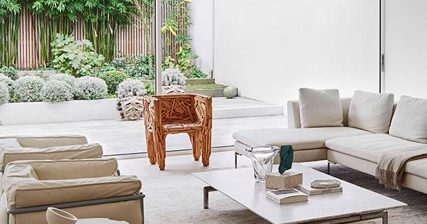 10 luxe living spaces