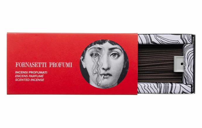 "Fornasetti Japanese incense refill sticks, $114, [Mecca](https://www.mecca.com.au/|target=""_blank""|rel=""nofollow"")."