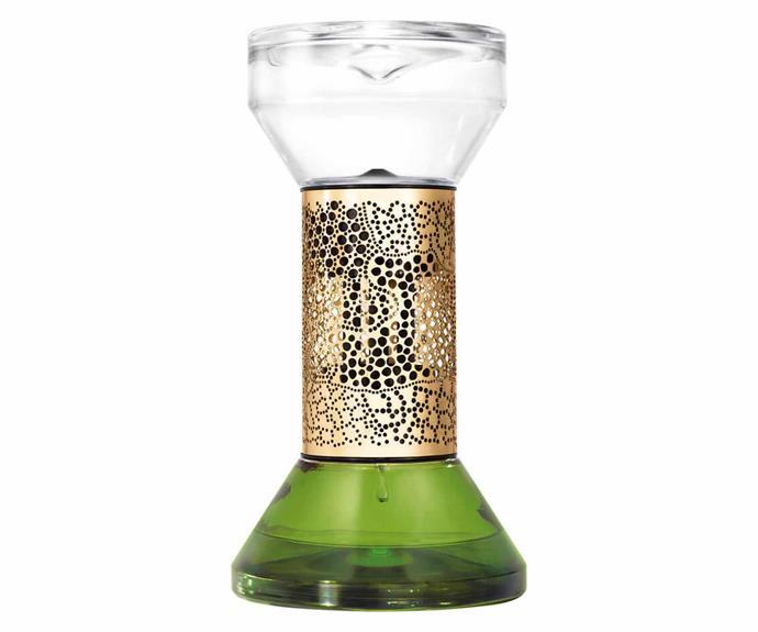 "Diptyque Figuier hourglass diffuser, $259, [Mecca](https://www.mecca.com.au/|target=""_blank""|rel=""nofollow"")."
