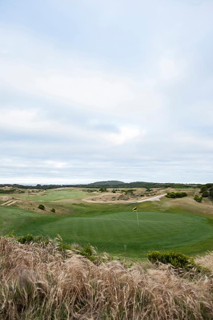 The Barwon Heads Golf Club.
