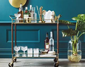 bar cart drinks trolley