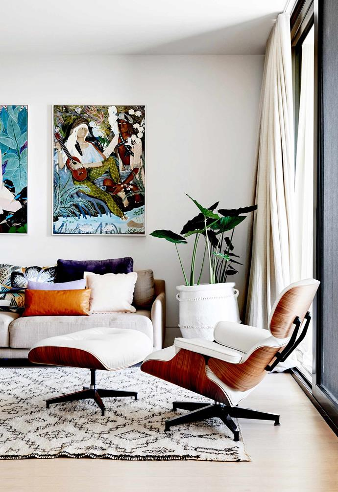 After taking the time to choose a hero piece of artwork for your home, the last thing you'll want is to accidentally hang it up in the wrong spot. *Photography: Brooke Holm / bauersyndication.com.au*