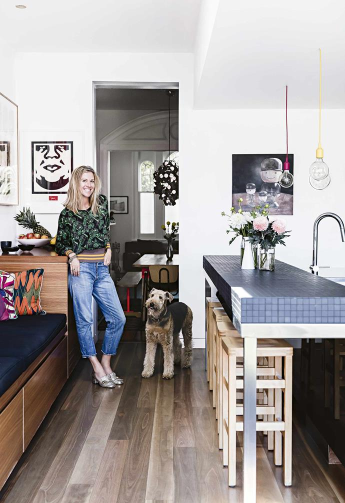"""**Nicola, how did you end up living so close to the shop?** <br><br>We moved from central London to Sydney in 2000 and we felt at home in Surry Hills. We like to be in the thick of things; the more hustle and bustle the better. We were already in the area and were starting to outgrow our previous house.<br><br>**Kitchen** [Muuto](https://muuto.com/