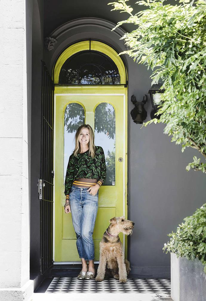 """**What was the house like when you first saw it?** <br><br>The [front of the house](https://www.homestolove.com.au/home-exterior-ideas-3998