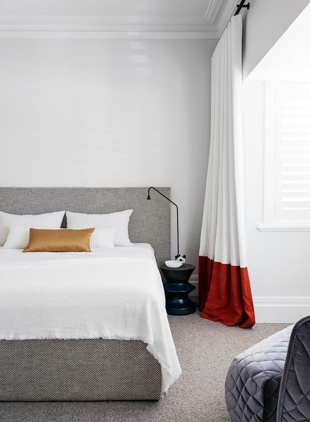 Invest in a decent quality mattress that will last the distance and provide you with the support you need for a restful sleep. Photo: Felix Forest / Styling: Claire Delmar
