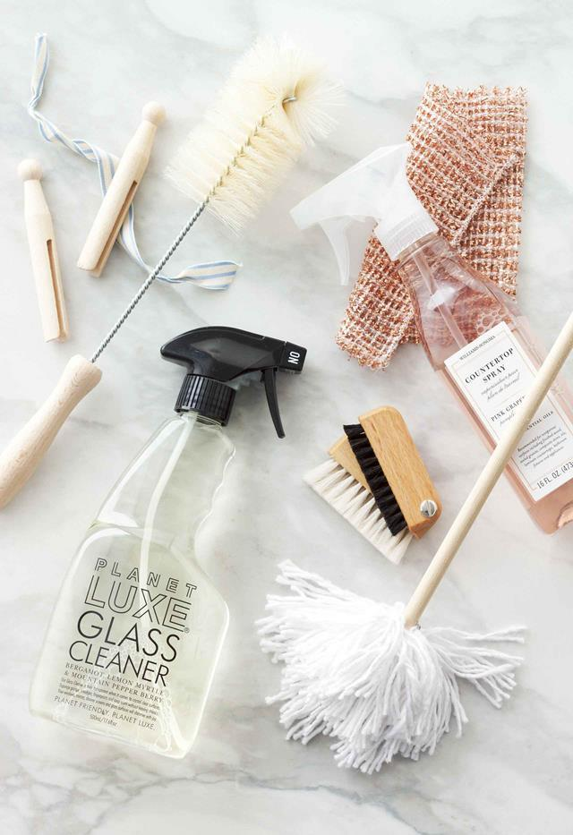 Natural cleaning solutions can save time, money, and reduce chemical exposure. Styling: Imogen Roache | Photography: Craig Wall