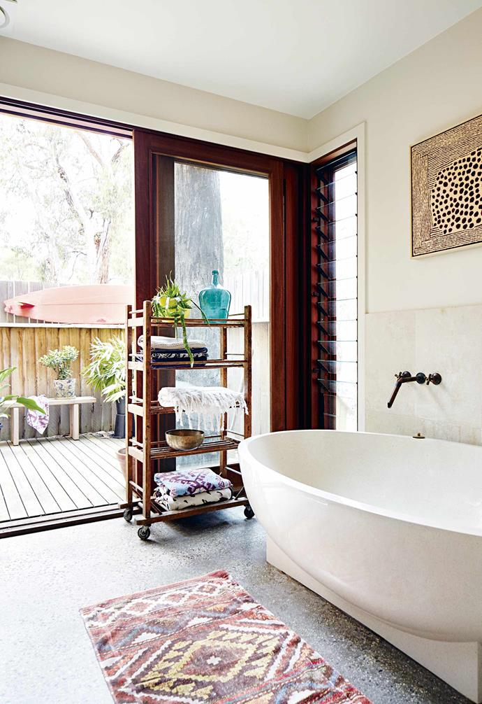 """""""Our house reminds us of a cross-between Robinson Crusoe's [beach shack](https://www.homestolove.com.au/10-beautiful-beach-shacks-19012