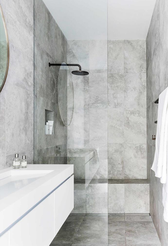 """**Pure commitment** The fast track to [making a small bathroom feel bigger](https://www.homestolove.com.au/small-bathroom-design-ideas-20211