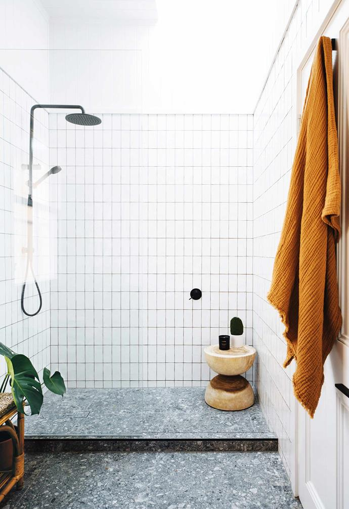 """**Light and shade** Keeping [your shower zone](https://www.homestolove.com.au/bathroom-shower-ideas-6546