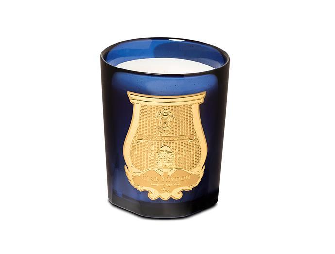 "Cire Turdon 'Esterel' candle, $135, [Libertine Parfumerie](https://www.libertineparfumerie.com.au/product/esterelle-mimosa-candle/|target=""_blank"")"