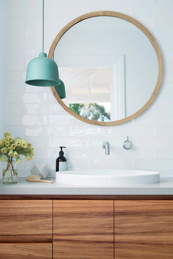 If you don't have the budget for a full bathroom renovation, cosmetic updates, like new tapware or a stylish mirror, can make a huge difference.