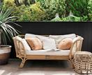 10 ideas for decorating with cane, wicker and rattan furniture