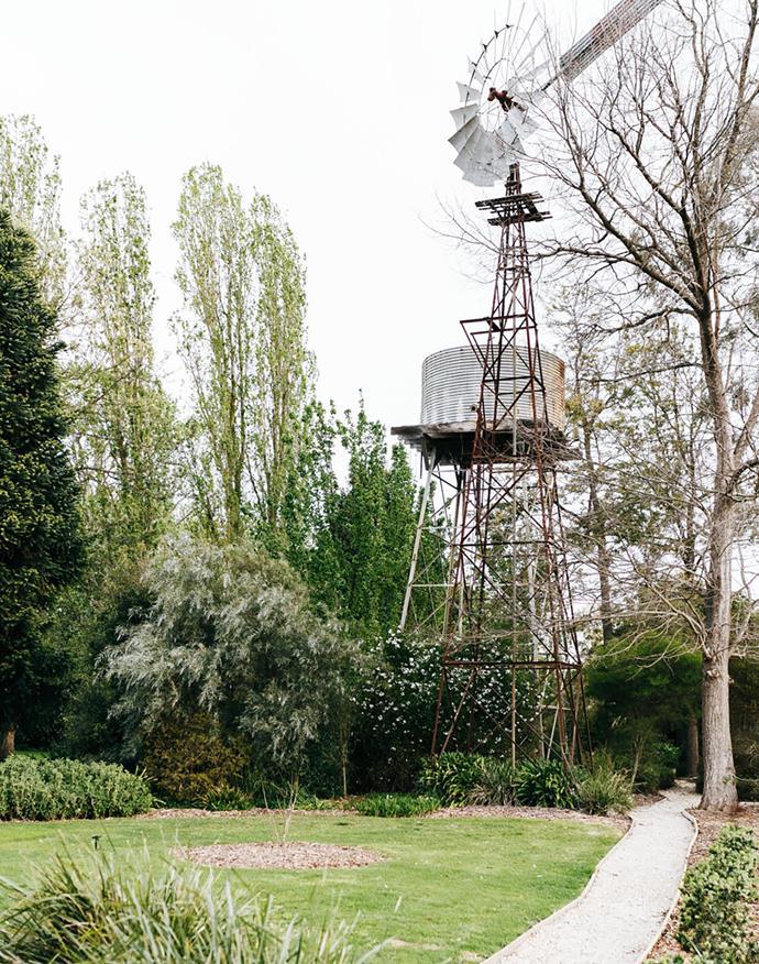 A windmill.