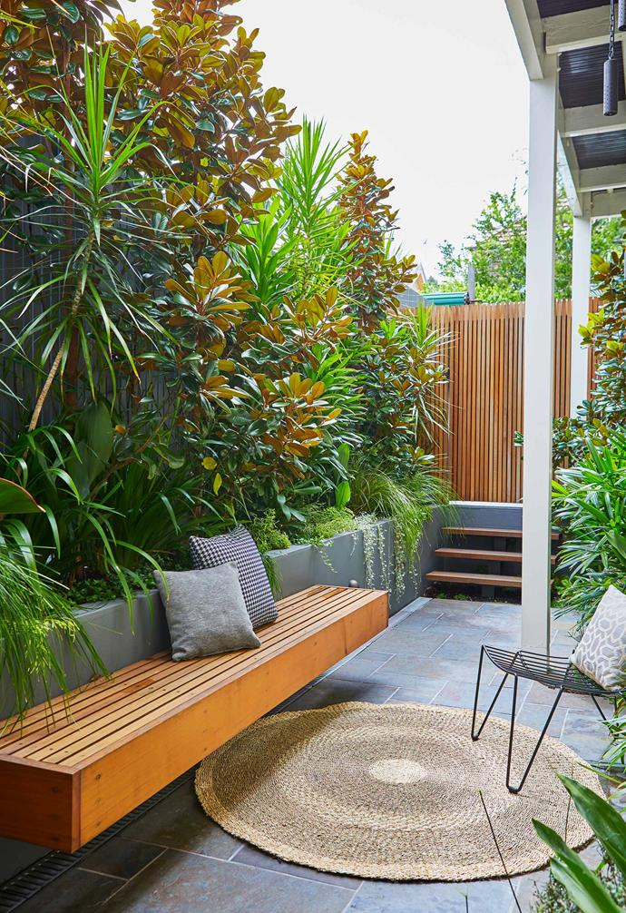 Adam Robinson specialises in transforming outdoor spaces into urban oases.