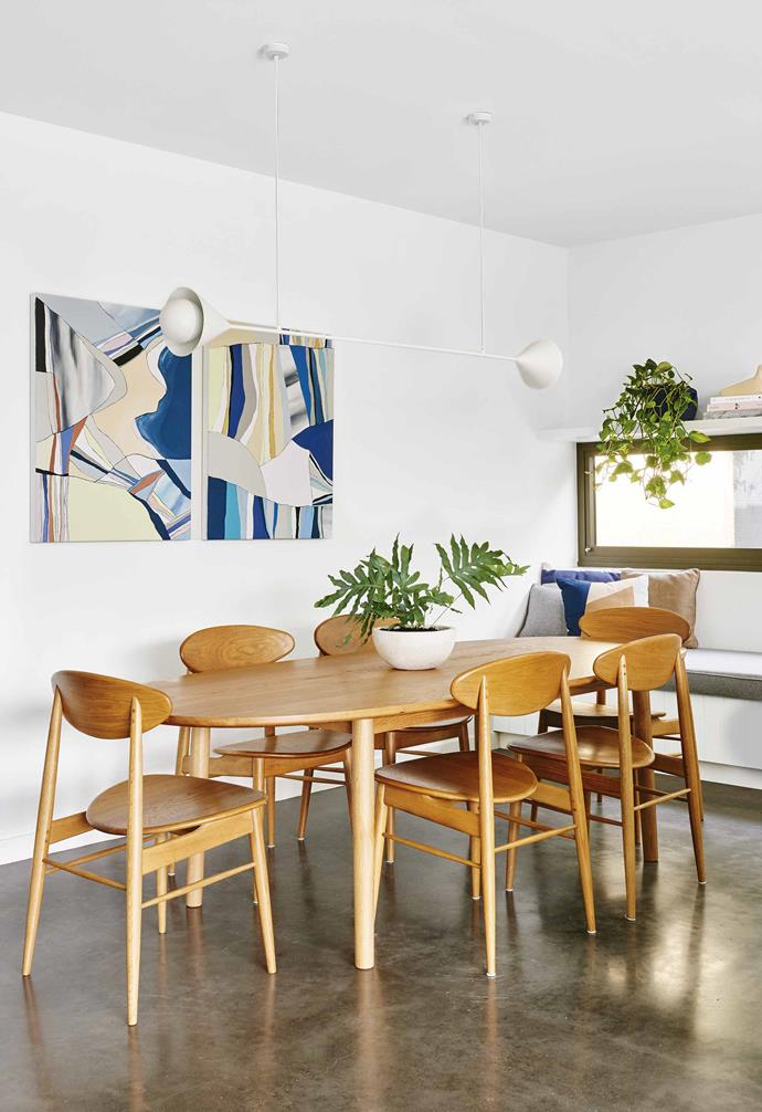 """A Curio Cosmos dining table from [Trit House](https://www.trithouse.com.au/