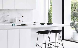 Bondi-home-inspection-kitchen white window blond wood