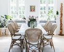 An old-fashioned home with classic Danish-style interiors