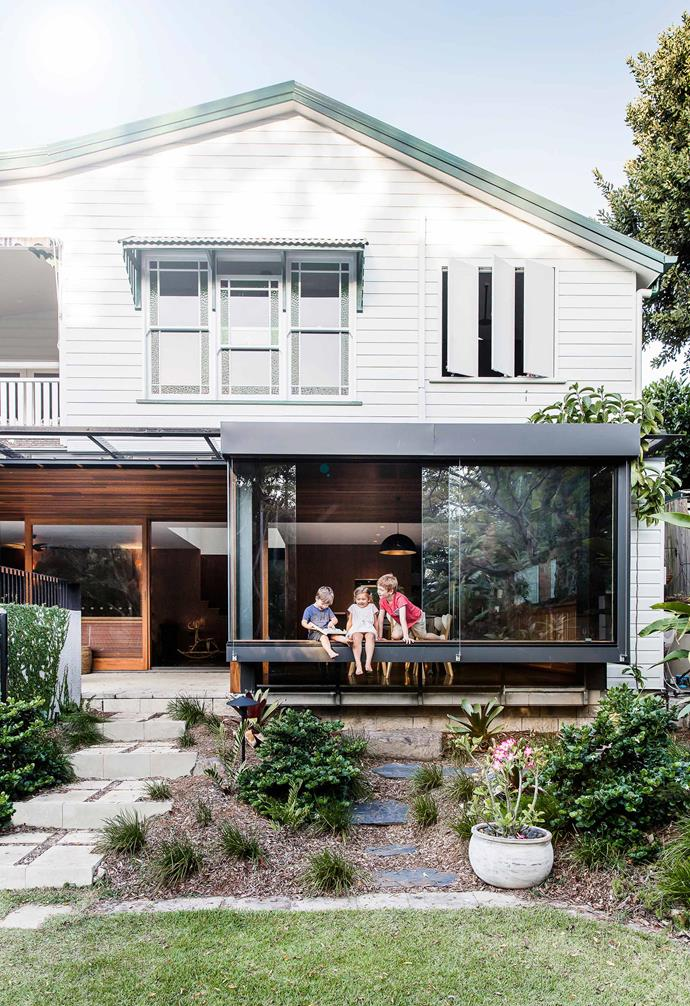 A modern renovation and reconfiguration has quite literally turned this [Brisbane Queenslander](http://www.homestolove.com.au/ground-level-queenslander-extension-4360) on its head, for all the right reasons.