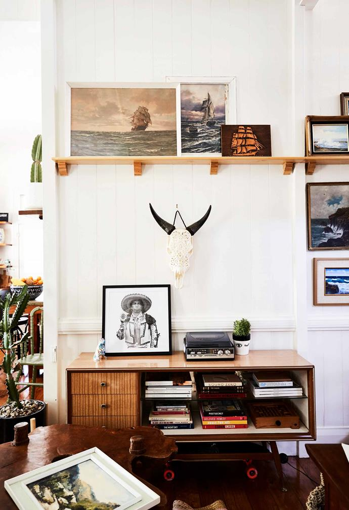 "In  this [historical Queenslander home](https://www.homestolove.com.au/queenslander-home-renovation-19782|target=""_blank"") liberal amounts of timber was used to add warmth against all-white walls and ceilings to great effect."