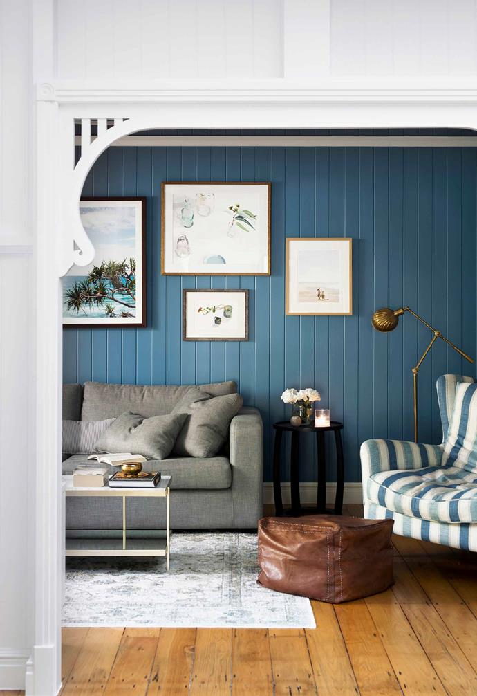"*The Block's* Michael and Carlene Duffy injected ample amounts of colour throughout this [relocated heritage Queenslander home](https://www.homestolove.com.au/block-contestants-renovate-heritage-queenslander-home-19196|target=""_blank""), transforming it into a contemporary abode."