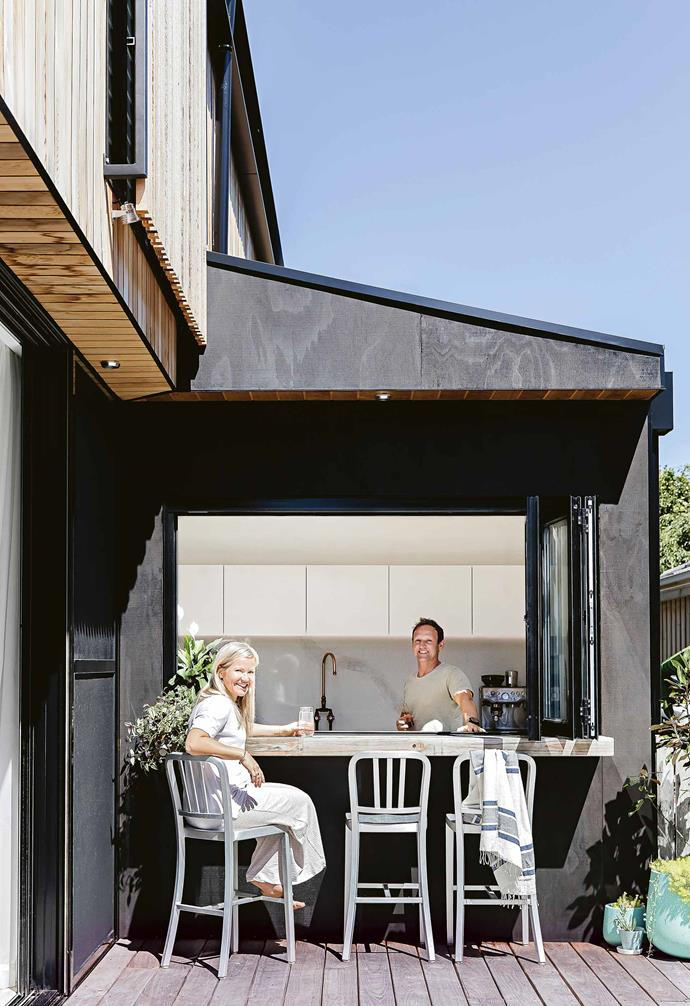 """They didn't feel the need to start the renovation straightaway, though. """"We purchased the home [with a vision to renovate or knock it](https://www.homestolove.com.au/knock-down-rebuild-14353