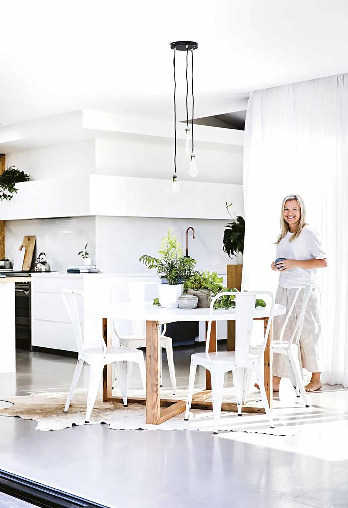 """With four kids and a cat, having different [open-plan zones](https://www.homestolove.com.au/20-best-open-plan-living-designs-17877